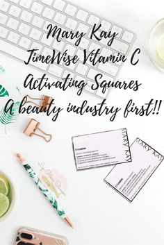 Mary Kay TimeWise Vitamin C Activating Square...are you ready to get your own? Let's pump that glow!! www.marykay.com/Lvha
