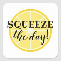 Shop Squeeze the Day! Lemon Themed Square Sticker created by HumbleCreative. Bullet Journal Aesthetic, Bullet Journal Themes, School Themes, Classroom Themes, Lemon Clipart, Lemon Quotes, Lemon Centerpieces, Lemon Crafts, Lemon Kitchen Decor