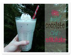 THM Thin Mint Chocolate Chip Milkshake Recipe {Trim Healthy Tuesday}--tastes like Chick-fil-a!!!