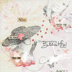 ArtBook - Beautiful - mini kit by Val C. Designs
