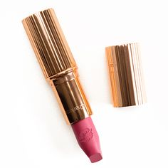 Charlotte Tilbury Secret Salma, Hot Emily, Miranda May Hot Lips Lipsticks Reviews, Photos, Swatches