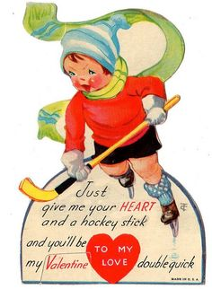 Hockey Valentine