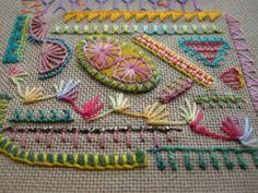 buttonhole sampler