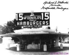 Az első McDonalds - iliveinstyle.com