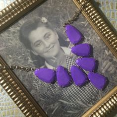 NWOT*Purple Kendra Scott Harlow Necklace Authentic. Never used. Kendra Scott Jewelry Necklaces