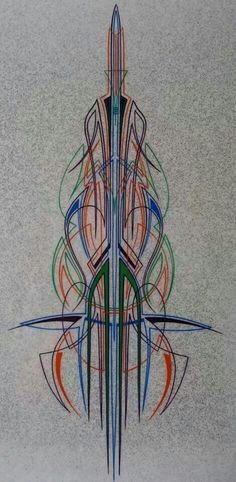 Amazing pinstriping by Anthony White