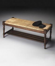 Love this Woven Rope Bench on #zulily! #zulilyfinds
