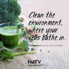 One of our favorite quotes from Jason Vale Juice Master!! Watch his film Super Juice Me instantly on FMTV: https://www.fmtv.com/watch/super-juice-me