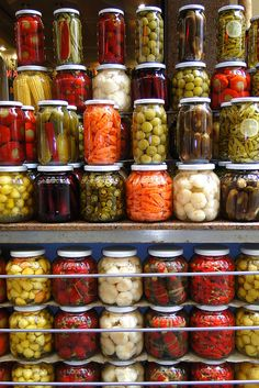 Pickled Preserves for Sale in Istanbul - Turkey