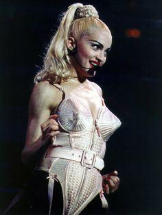 Le corset de Jean-Paul Gaultier