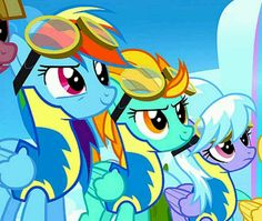 Episode of Rainbow Dash. S3: Episode: The Wonderbolts whatever. Forgot the other part lol. It's about Dashie, Rainbow. Or you could just say her whole name Rainbow Dash :)