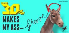 Get that ass to groove its way to the Fastrack Sale and get Upto 30% OFF on your favorite products! ‪#‎MoveYourAss‬