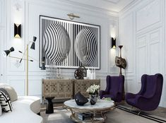FURNITURE AT PARIS | Gorgeous way to combine amazing furniture | http://www.bocadolobo.com/en/index.php | #homeisnpiration #interiordecor