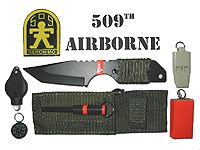 bug out kit and knife