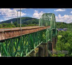 Cordell Hull Bridge - Carthage, Smith County, TN
