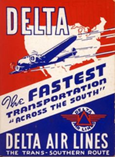 Delta Airlines 1947
