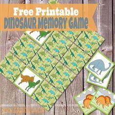 Kids Dinosaur Party Game Idea