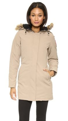 Canada Goose expedition parka outlet official - Canada Goose ON HER: Victoria parka in military green. ON HIM ...