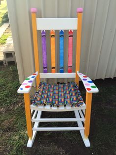 Teacher Rocking Chair Easy Design 16 Best Painted Images Chairs Paint Furniture Classroom
