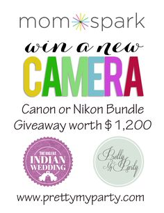 GIVEAWAY | WIN a Canon or Nikon Digital Camera Bundle worth over $1200 | OPEN WORLDWIDE !! by Bird's Party
