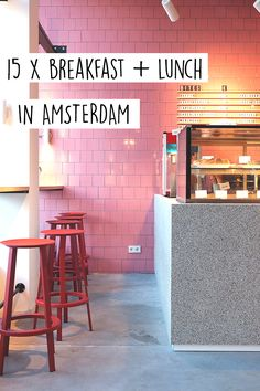 "Breakfast & lunch hotspots have openened in Amsterdam. Check out these restaurants & bars on travel blog http://www.yourlittleblackbook.me & know where to eat the best food in Amsterdam. Planning a trip to Amsterdam? Check out http://www.yourlittleblackbook.me/ & download ""The Amsterdam City Guide app"" for Android & iOs with over 550 hotspots: https://itunes.apple.com/us/app/amsterdam-cityguide-yourlbb/id1066913884?mt=8 or https://play.google.com/store/apps/details?id=com.app.r3914JB !"
