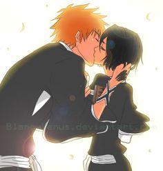 Ichigo and Rukia, Bleach Bleach Rukia, Ichigo X Rukia, Bleach Anime, Bleach Fanart, Anime Naruto, Anime Guys, Manga Anime, Studio Ghibli Wallpaper, Bleach Couples