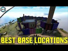 Ark Survival Evolved Best Base Locations - YouTube