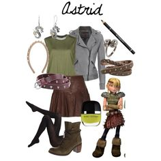 """Non-Disney Outfits: Astrid"" by jas67angel on Polyvore"