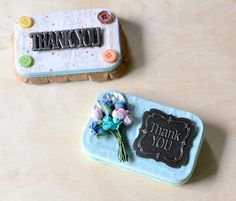 Make these easy gift card tins out of old Altoid containers