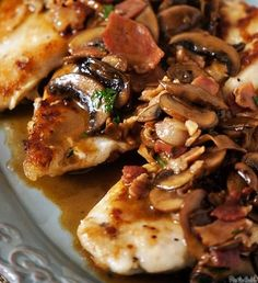 move over Carrabbas! this Chicken Marsala Recipe is to die for...