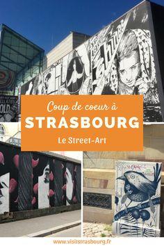 Levez les yeux et (re)découvrez la ville à travers les œuvres street-art, éphémères ou non, qui colorent les rues de Strasbourg. Street Art, Tourist Board, Rues, Strasbourg, Les Oeuvres, Urban, Tourism, City, Artist