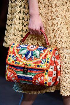 Handbag Inspiration! Dolce & Gabbana Spring 2013 Ready-to-Wear Collection Slideshow on Style.com