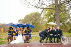 Have fun with your bridal party.