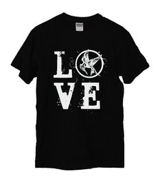 Best Hunger Games shirt I have seen yet. Hunger Games Shirt, Hunger Games Outfits, Hunger Games Trilogy, Game Black, Knit Shirt, Mockingjay, Cowgirl Style, So Little Time, The Best Series Ever