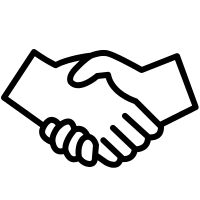 Image result for shaking hands picto