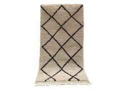 2x4 Hallway Carpet Authentique Beni Ourain Luxurious deep pile