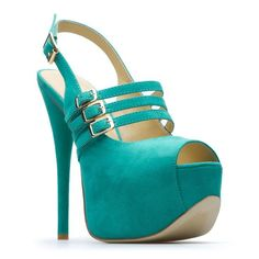 teal and bold...