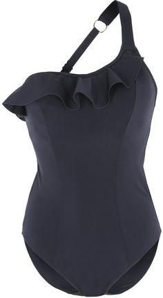 Pin for Later: Diese schwarzen Bikinis und Badeanzüge sind alles andere als langweilig  Freya REMIX schwarzer Badeanzug mit Rüschen (85 €)