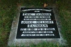 Joyce Delight Lucas Rainham 1918 - 2005 & Eric Rainham 1925  - 1989 - Wharerangi Lawn Cemetery, Napier