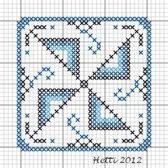 Deel 3 van de SAL Delfts Blauwe Tegels heeft molenwieken. Daar heb ik 2 variaties van gemaakt, zodat je zelf kunt kiezen. Part 3 of the S...