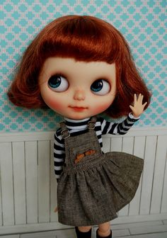 Blythe Reminds me of TCT or my Strawberry sweets doll