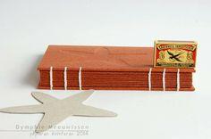 Papieren Avonturen: binding in coptic style