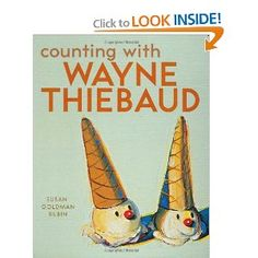 Introduce your child to great works of art while also teaching them basic counting, colors and imagination through these fun books - Andy Warhol's Colors, Matisse Dace with Joy, Counting with Wayne Thiebaud and more