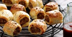 Go beyond schnitzels and get creative with breadcrumbs by adding them to these tasty sausage rolls.