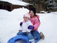 Sledding in Estes Park Colorado