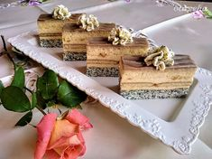 Tosca rezy (fotorecept) - recept | Varecha.sk Feta, Ale, Dairy, Treats, Cheese, Sweet, Kuchen, Sweet Like Candy, Ale Beer
