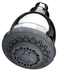 Culligan WSH-C125 Level 2 Bacteriostatic Wall-Mount Filtered Shower Head with Ma Polished Chrome Showers Shower Heads Multi Function