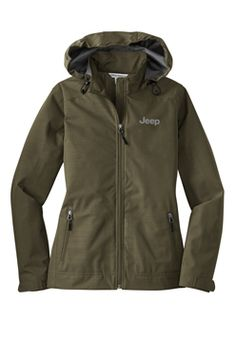 Jeep Jacket! OMG! I wannnttttt...I needdd!! Looks like the North Face jackets I love so much. I'm not into apparel or items that like to blast their brands on their items....but Jeep is the exception. :D