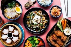 East Market brings the beat new Asian food concepts together under one roof. Try Korean BBQ, Dim Sum, Ramen and more. Asian Recipes, Ethnic Recipes, Korean Bbq, Food Concept, Dim Sum, Palak Paneer, Wave, Restaurants, Asian Food Recipes
