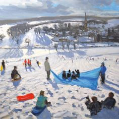 22 best charity christmas cards images on pinterest charity charity christmas card pack of 5 combat stress edensor village chatsworth of the rrp will be donated by museums and galleries to combat stress m4hsunfo
